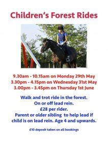 Children's Activities During May Half Term